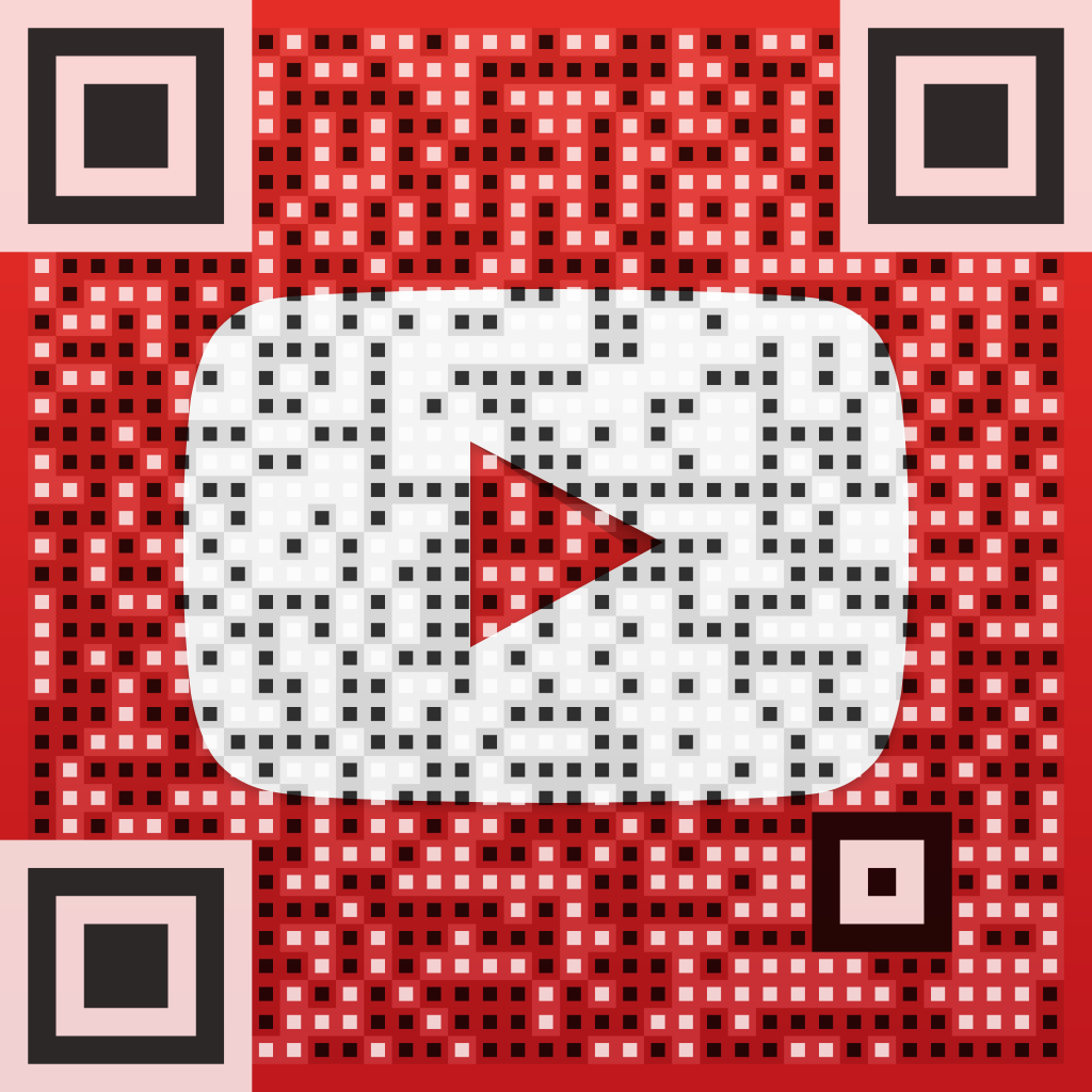 Vanity QR Code for @arqrplus on YouTube